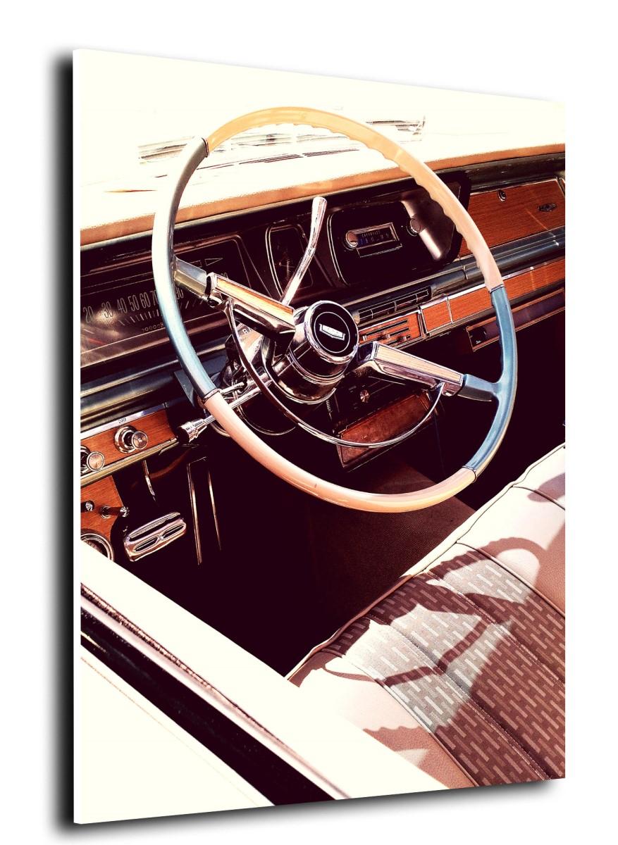 Voiture - Volant Vintage