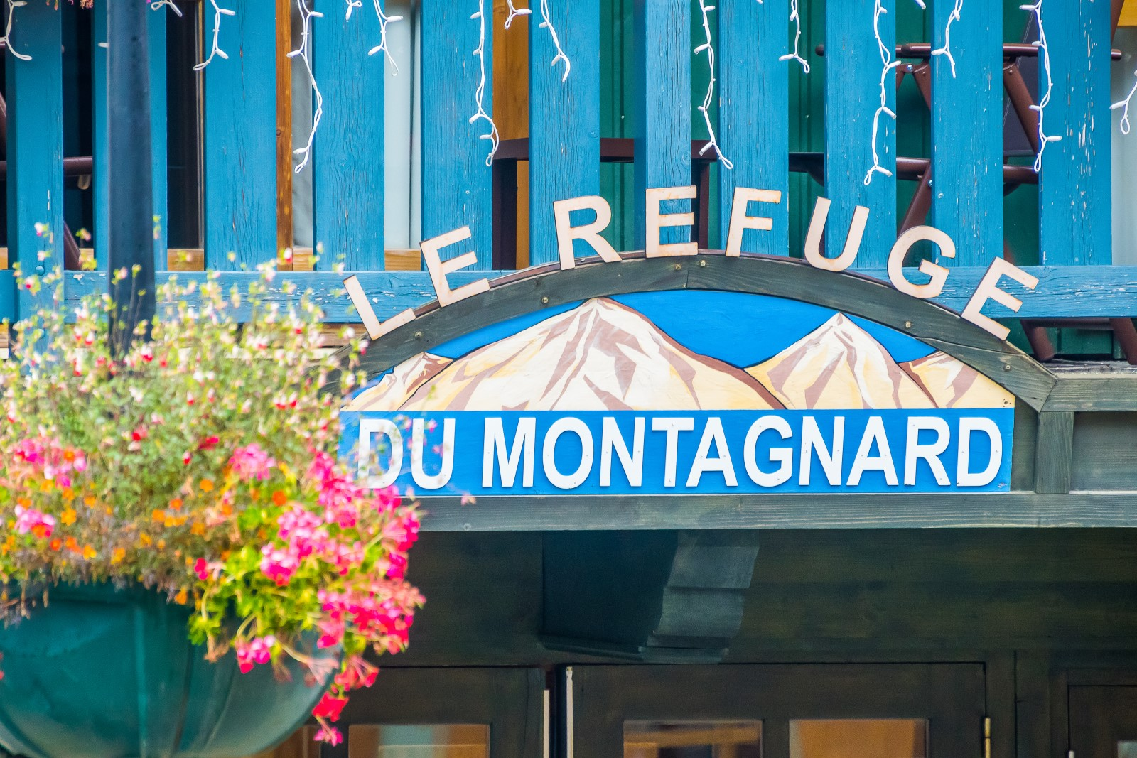 refuge du montagnard in summer