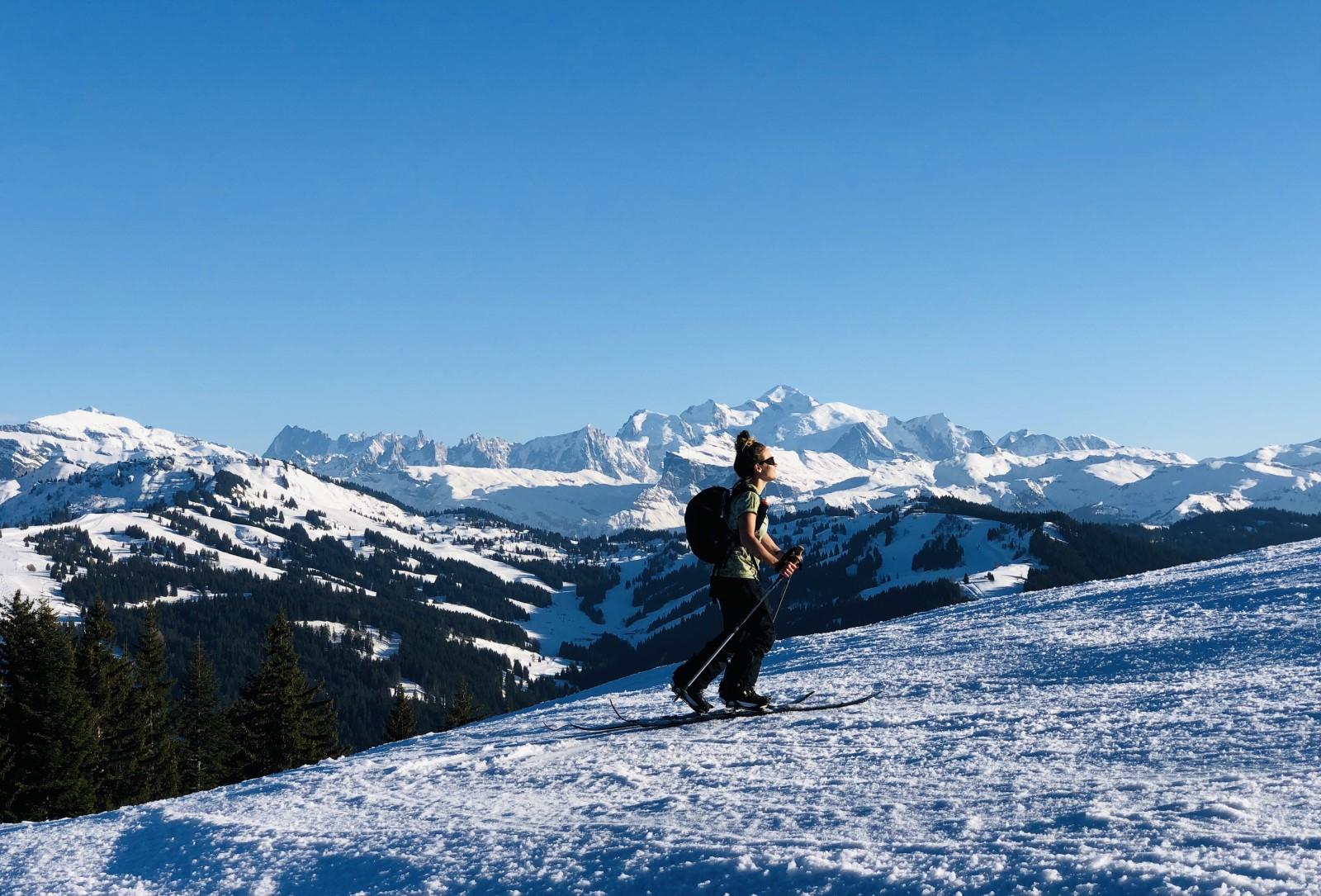 Ski de randonnée - OT les Gets