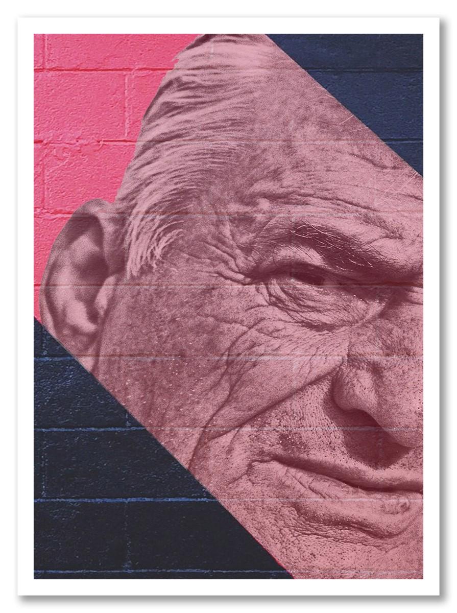 Street Art - Old Man