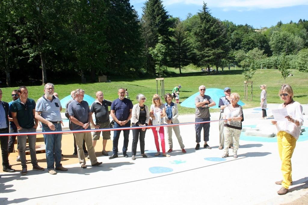 Inauguration du parc en juin 2019