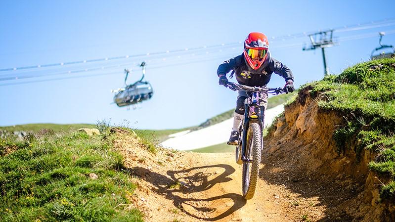Mountain bikes in les Arcs