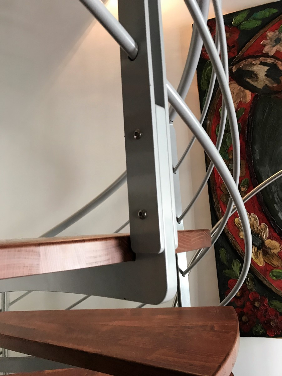 Escalier et passerelle
