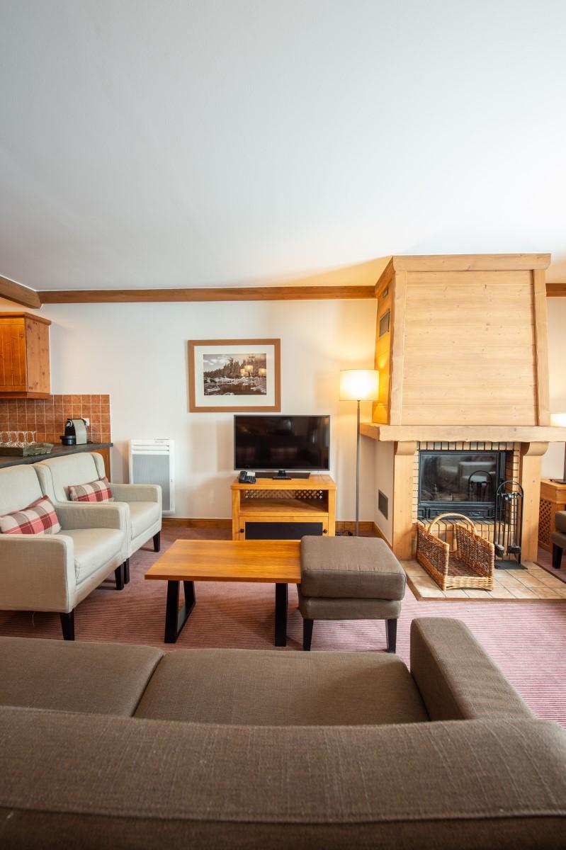 Réservez votre appartement hôtel pour un séjour au ski dans la station Arc 1950, le village