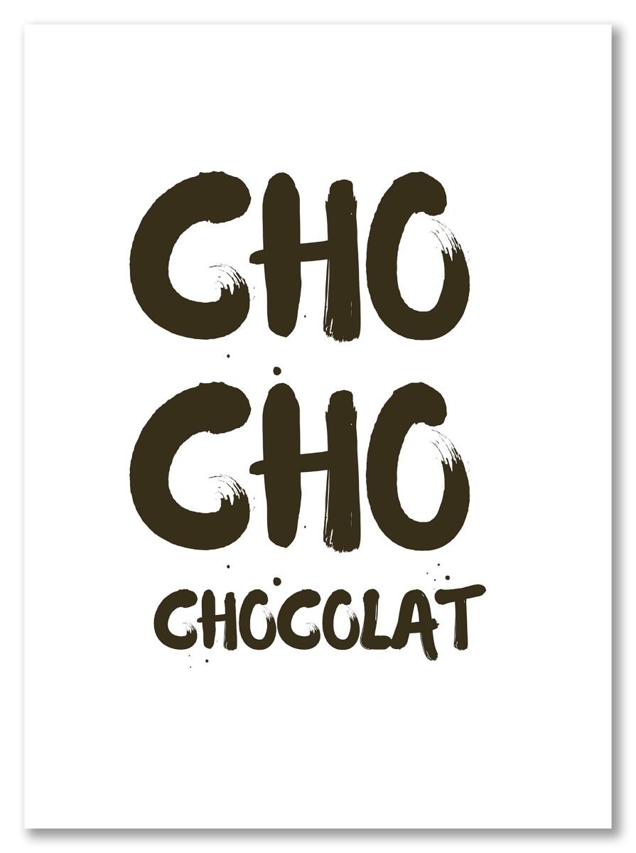 Ecriture - Cho Cho chocolat