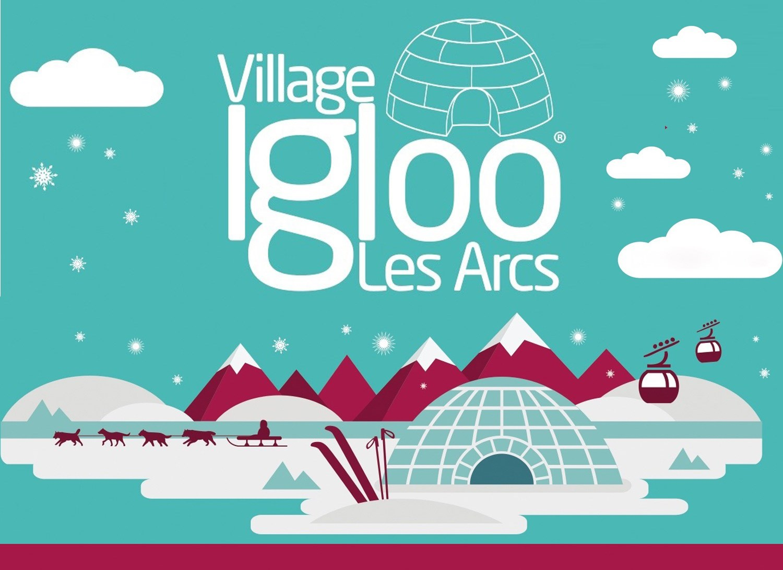 village igloo et grotte de glace - Les Arcs