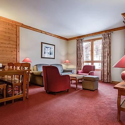 hébergements hôteliers 5* en montagne à Arc 1950